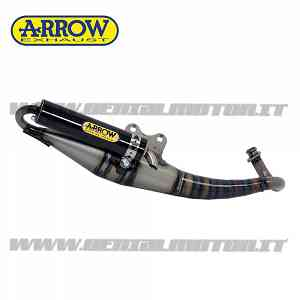 Scarico Completo Arrow Extreme Carbonio Aprilia Rally (Air) 50 Cc 1995 > 1999