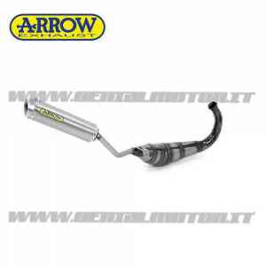 Scarico Completo Arrow Mini Thunder Titanio Beta Rr 50 Motard 2010 > 2011