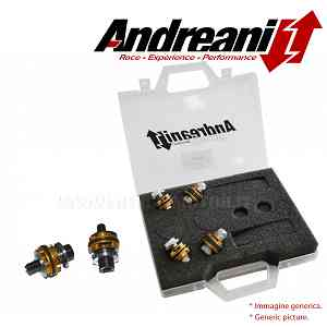 Andreani Compression et Rebond Fourche Pistons Kit Aprilia RS 250 1998 > 2002