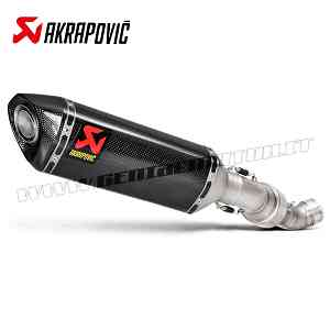 Exhaust Carbon Approved Muffler Akrapovic for Aprilia RSV 4 2015 > 2016