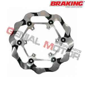 BY4120 Disco Freno Anteriore SX Braking BATFLY per BETA RR 4T ENDURO 2005 > 2009