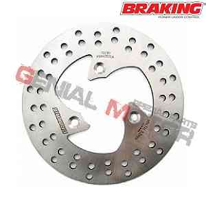 PE01FI Disco Freno Anteriore SX Braking R-FIX per BETA QUADRA (Rear Drum Model) 1997 > 2001