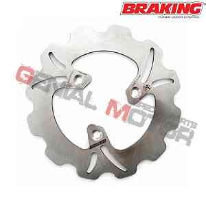 PE01FID Disco Freno Anteriore SX Braking W-FIX per BETA QUADRA (Rear Drum Model) 1997 > 2001