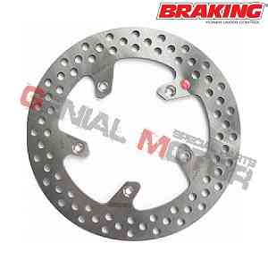RF8511 Disco Freno Posteriore DX Braking R-FIX per APRILIA ATLANTIC 2002 > 2005