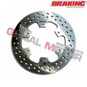 RF8119 Disco Freno Anteriore SX Braking R-FIX per BENELLI PEPE (Rear Drum Model) 1999 > 2004