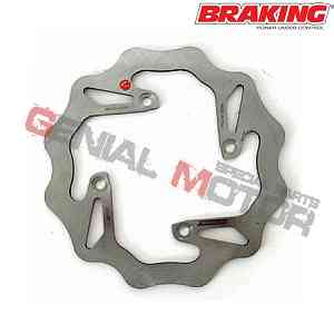 WF4501 Disco Freno Posteriore DX Braking W-FIX per BETA RR 4T ENDURO 2005 > 2009