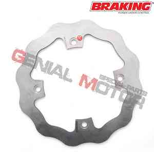 WF4506 Disco Freno Posteriore DX Braking W-FIX per BETA RR 4T ENDURO 2005 > 2009