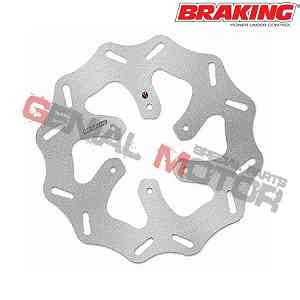 WF7527 Disco Freno Posteriore DX Braking W-FIX per APRILIA RS4 (AJP Rear Caliper) 2011 > 2013