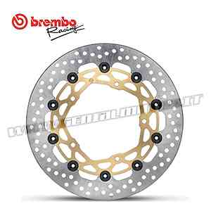 Coppia di Dischi Freno Brembo Racing SuperSport Bimota BB3 1000 Ø320 2014 > 2016