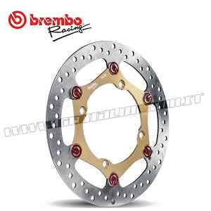 Kit Brake Brembo Disc Pad Bracket Oversize Mx / Enduro Kawasaki Klx R 450