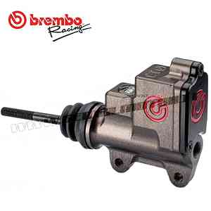 Brake Pump Brembo Racing Rear Ps 13 Cnc - With Incorporated Rectangular Tank