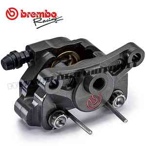 Calipers Rear Break Brembo Racing P4-24 Interaxle 64 Mm Without Pad