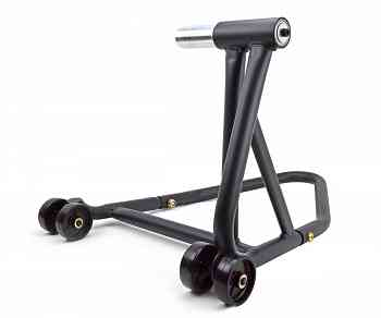 Motorcycle Paddock Stand black Single Swing Arm Universal