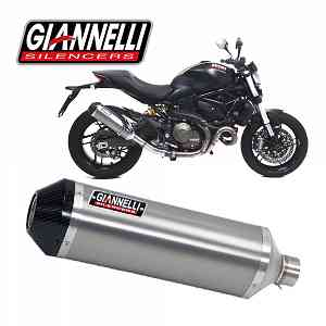 Exhaust Muffler Giannelli Tit/Carb Ipersport Ducati MONSTER 821 2014 > 2016