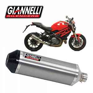 Exhaust Muffler Giannelli Tit/Carb Ipersport Ducati Monster 1100 Evo 2011 > 2013