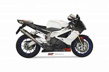 Mivv Exhaust Mufflers X-cone Stainless Steel for Aprilia Rsv 1000 2004 > 2008