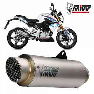 Mivv Complete Exhaust Gp Pro Titanium for BMW G 310 R {{year_system}}
