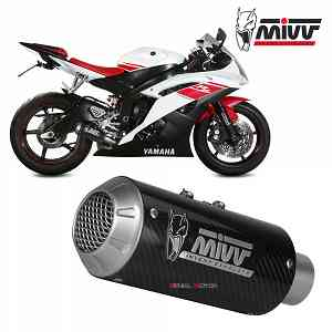 Mivv Exhaust Muffler MK3 Carbon kat for YAMAHA YZF 600 R6 2006 > 2016