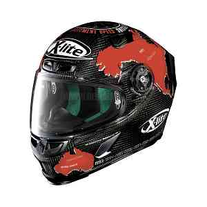 X-lite Helm Full-gesicht Helmet X-803 Ultra Carbon Checa 019