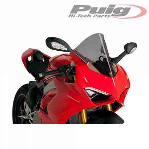 PARE-BRISE PUIG FUME FONCE 9690F DUCATI PANIGALE V4 1100 SPECIALE 2018 > 2019