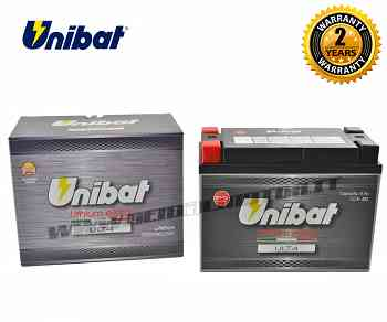 Unibat Lithium Battery ULT4 480A for YAMAHA XV ROAD STAR MIDNIGHT 1999 > 2003 YTX20HL-BS