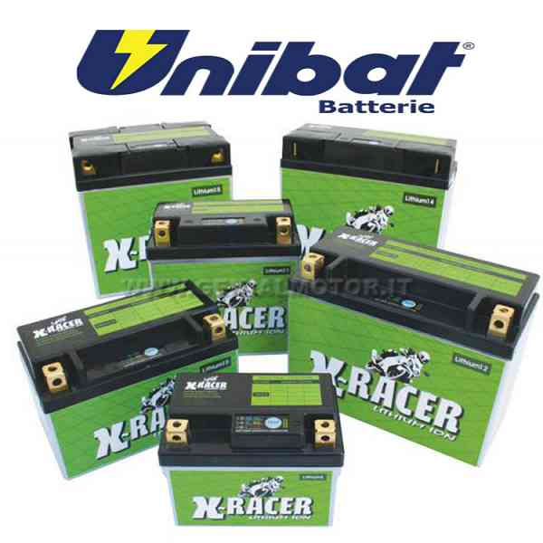 Kymco Super 8 Battery X-racer Unibat